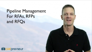 Introduction to Pipeline Management for RFAs, RFPs and RFQs