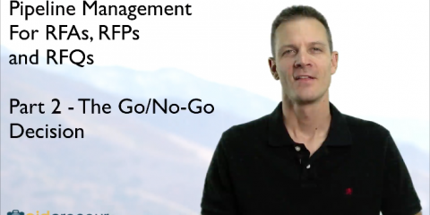 Part 2 of Pipeline Management for RFAs, RFPs and RFQs