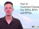 Part 2 of Closing for RFAs, RFPs and RFQs
