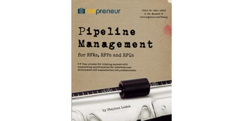 Pipeline Management for RFAs, RFPs and RFQs by Aidpreneur