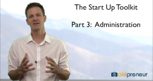 Start Up Toolkit Part 3 - Administration by Aidpreneur