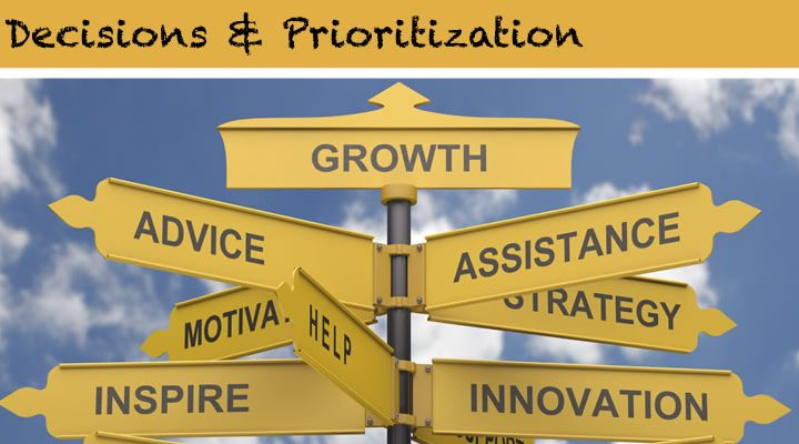 Part 4: Decisions and Prioritization for RFAs, RFPs and RFQs