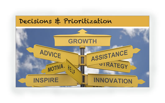 3. Decisions and Prioritization TP