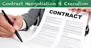 5. Negotiation and contract execution FI