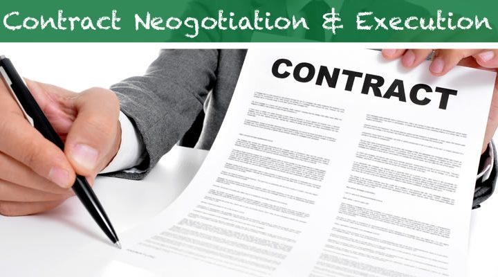 Part 4: Contract Negotiation for RFAs, RFPs and RFQs
