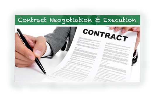 5. Negotiation and contract execution TP